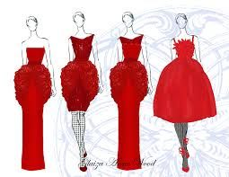 patterns and ideas in red