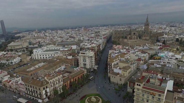 Vistas aéreas de Sevilla http://alquilercochessevilla.soloibiza.com/vistas-aereas-sevilla/ #Sevilla