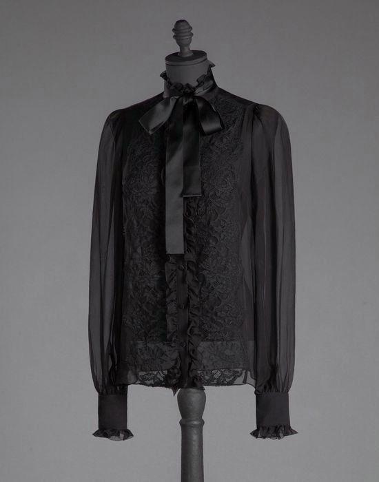 Черная блузка D&G | Clothing inspiration