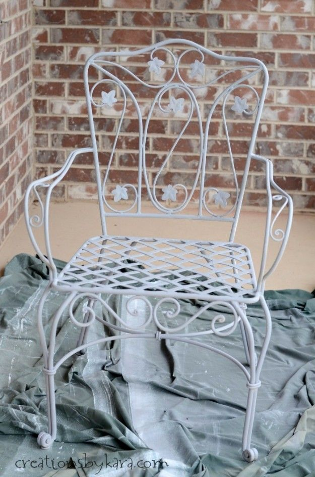 How To Transform Rusty Metal Patio Furniture Rusty Metal