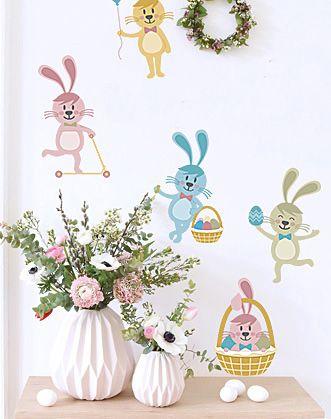 Тяжело представить себе Пасху без ее традиционного атрибута - пасхального зайца. А мы предлагаем их целых 5 :) Забавные пасхальные зайчики непременно станут достойным украшением этого светлого праздника!