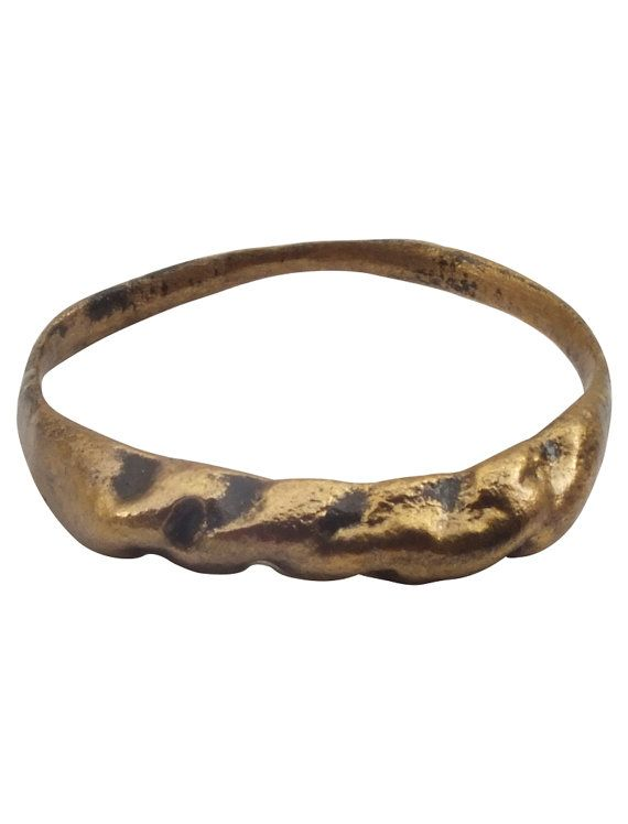 Ancient Viking  Mans Pinky Ring   C.900A.D. Size 8 1/4 (17.8mm)[PWR1079]