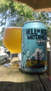 21st Amendment Hell Or High Watermelon: 10 Beers of Summer. WIN FREE BEER STUFF: http://celebratethesuds.blogspot.com/2013/06/summer-beers-win-bunch-of-cool-beer-swag.html