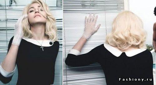 Белый воротничок - вечный тренд / воротники фото