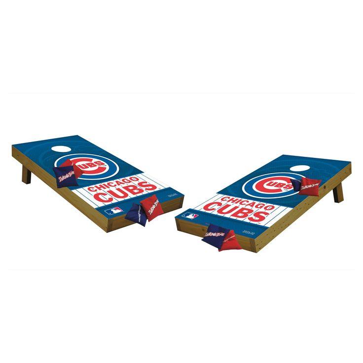 MLB Chicago Cubs Wild Sports Tailgate Toss Cornhole