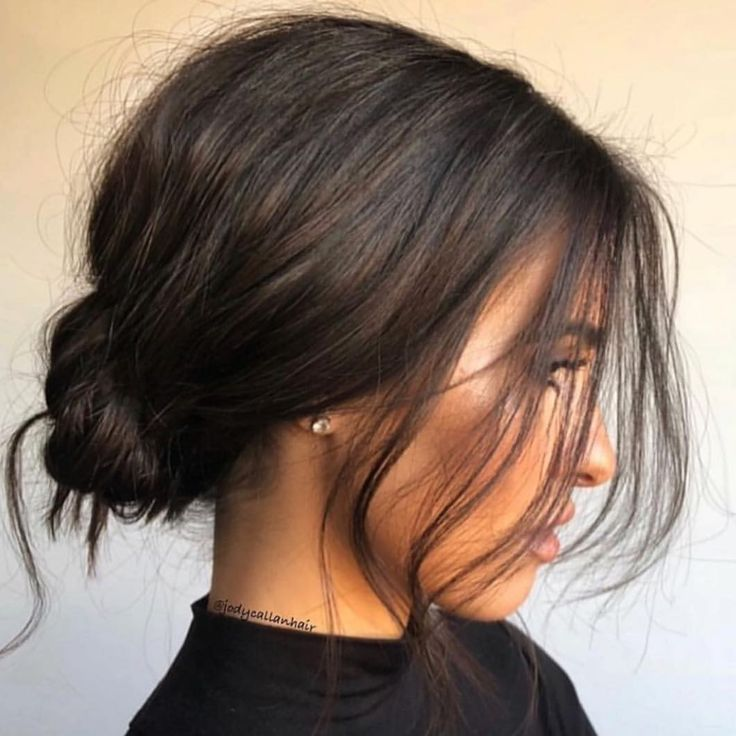 Chaotisch niedriges Brötchen, Jody Callan Hair   – Hairstyles to Try