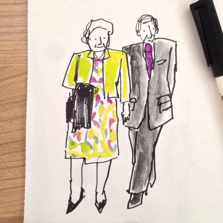 Purple Couple