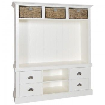 Rosa TV Unit - French-style, hand-painted and oak furniture for living rooms, bedrooms, dining rooms, bathrooms and children's rooms MaisonInteriors.co.uk