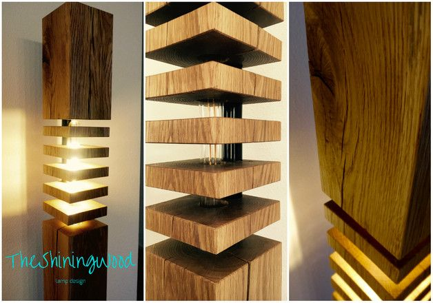 25 einzigartige holzlampe ideen auf pinterest diy holz lampe holz design und led deckenlampen. Black Bedroom Furniture Sets. Home Design Ideas