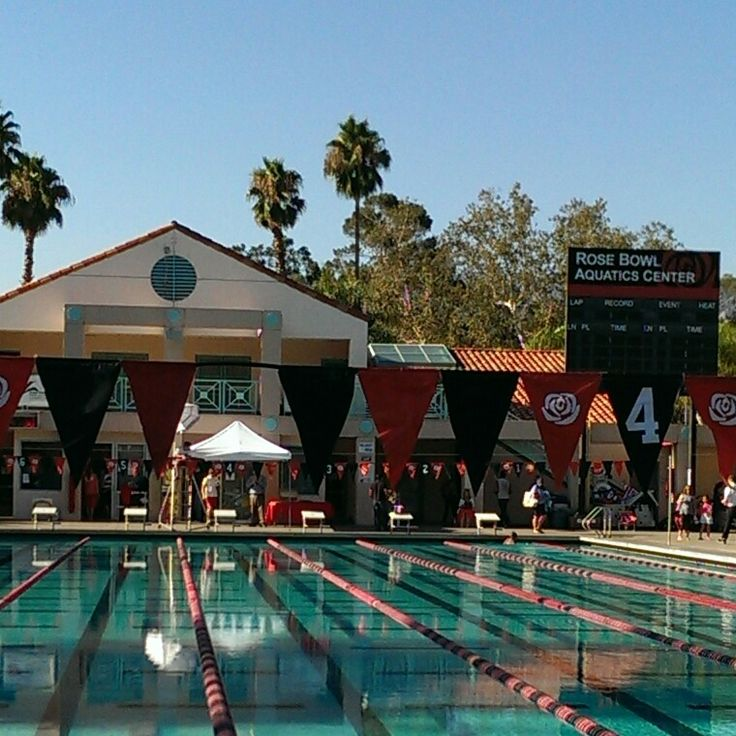 Rose Bowl Aquatics Center, Pasadena, California