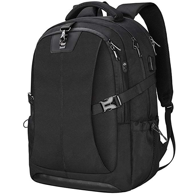 791733baa345 Laptop Backpack 17.3 Inch Travel Anti-theft Waterproof School Backpack  Business College Large Capacity Gaming