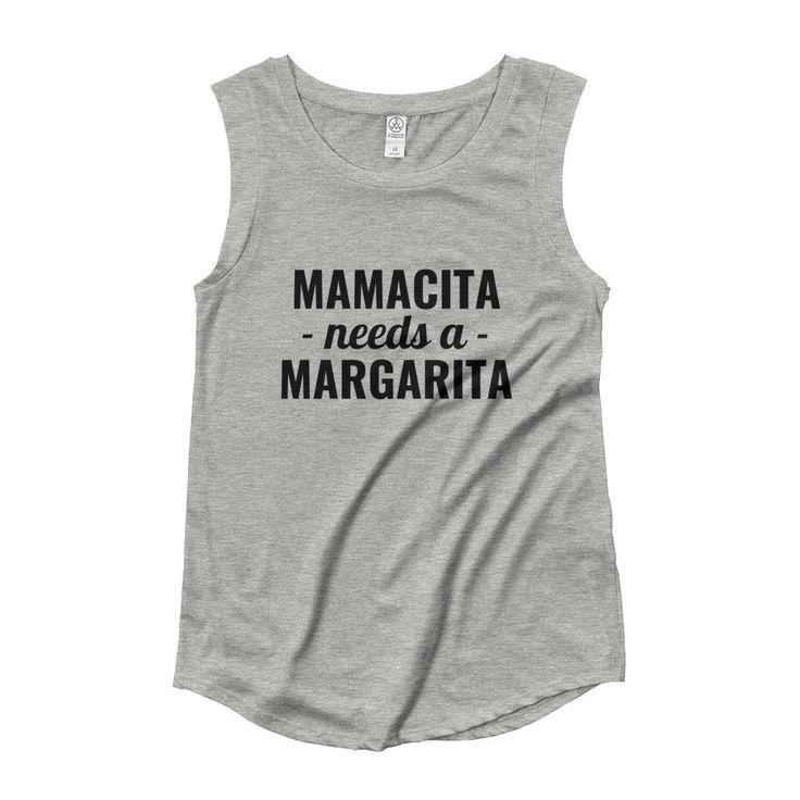 Mamacita Cap Sleeve T-Shirt