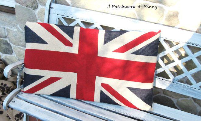 Guanciale Bandiera inglese