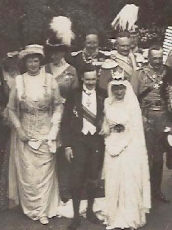 Portugal - 1913 King Manuel II & Princess Auguste Viktoria of Hohenzollern