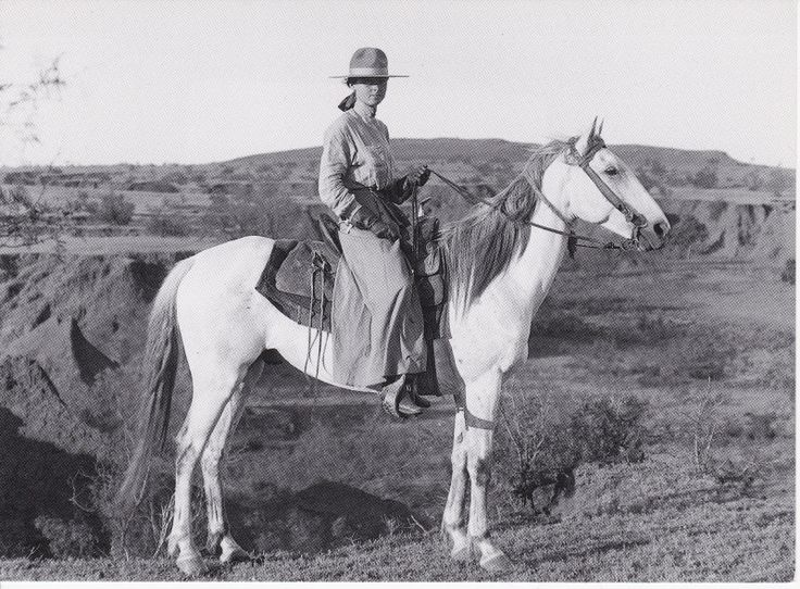 Early Cowgirl Anna Hanson Bonham Texas