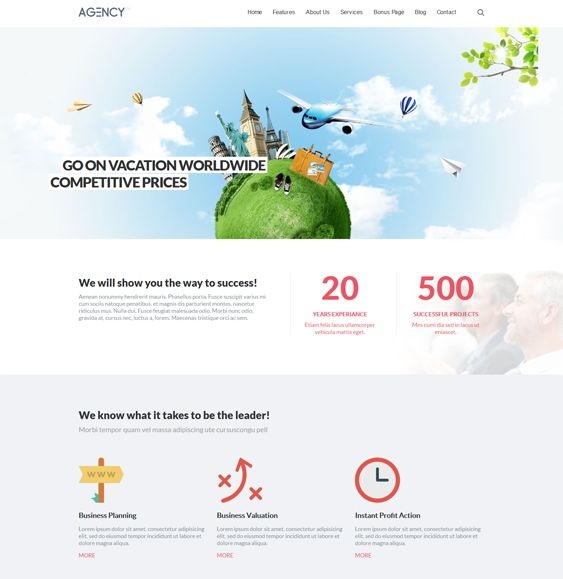 This parallax Joomla template features 6 preset color variations, more than 80 module positions, Revolution Slider, a responsive layout, Google Fonts support, K2 compatibility, dynamic pricing tables, and more.