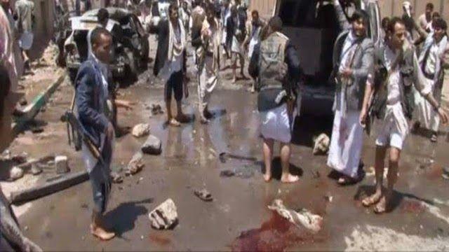 Η.W.N.: Υεμένη: 137 νεκροί και 345 τραυματίες από τριπλή ε...