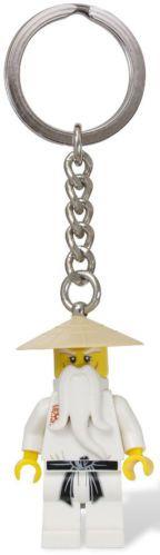 LEGO Gear Key Chains 853101 NINJAGO Sensei Wu Key Chain BRAND NEW