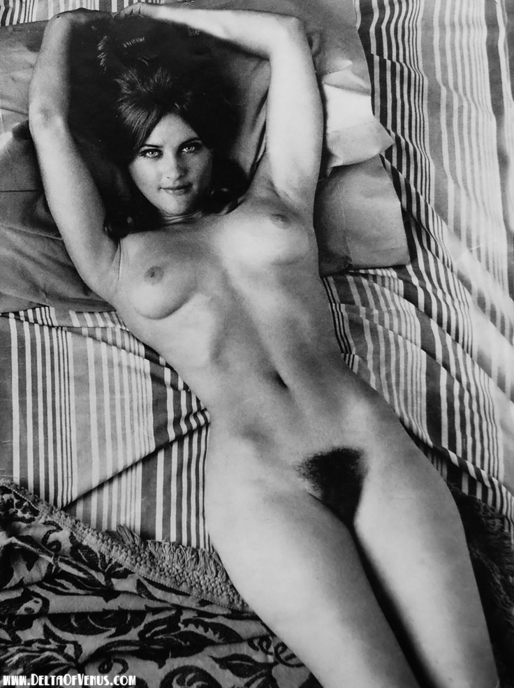 reclining female nude hairy