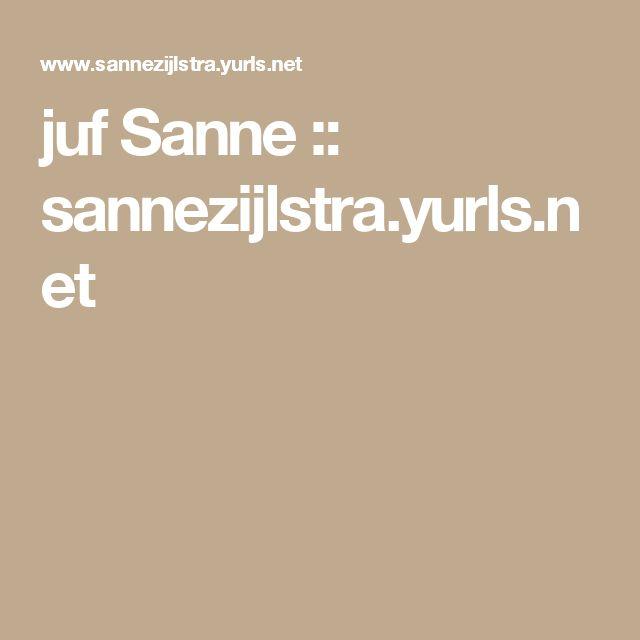 juf Sanne :: sannezijlstra.yurls.net