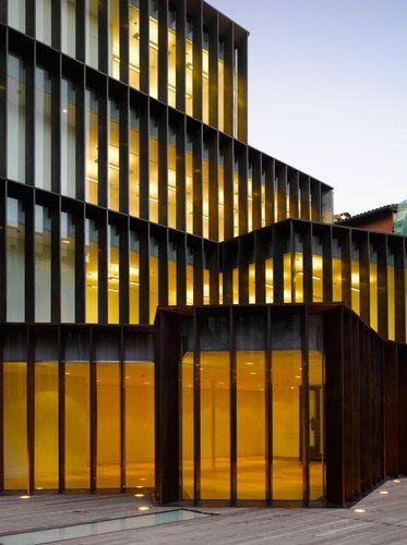 Museo arqueol gico de vitoria xiv premio europeo cobre en la arquitectura arquitectos - Arquitectos en vitoria ...