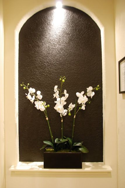 Maybe not black but good for the niches in front of my new bedroom
