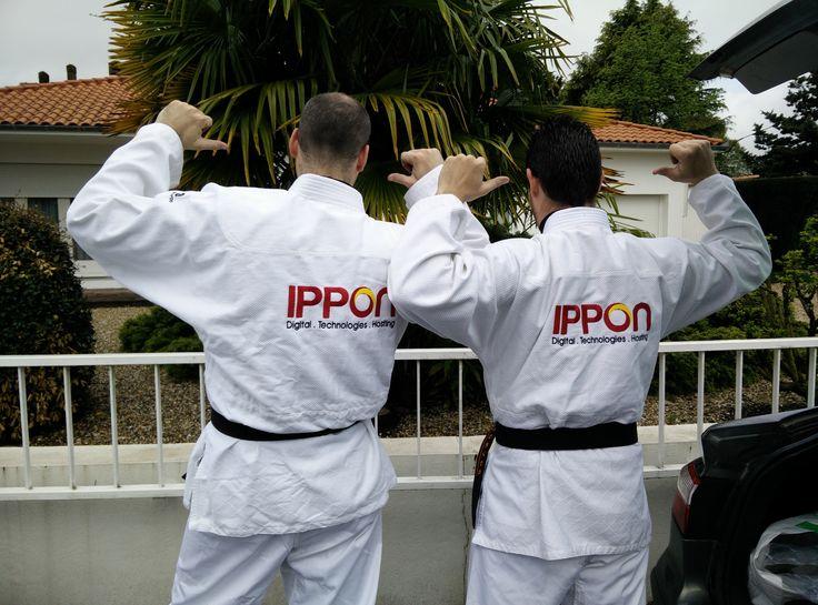2 Ippon participent à la course FRAPPADINGUE AQ X'TREM 2015.