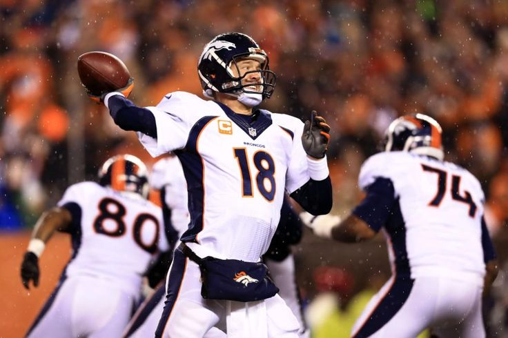 BIGGEST NFL FREE AGENCY SIGNINGS SINCE 2005.    2012: QB Peyton Manning, 5 years, $96M ($18M guaranteed) Reggie White of the 21st century in terms of such a proven and coveted commodity on the open market, Manning left the Colts for the Broncos after missing all of 2011 following neck surgery. All he's done since then is lead the Broncos to three division titles, a Super Bowl appearance and nab another league MVP trophy.