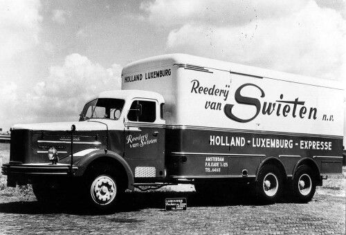Kromhout. Truck