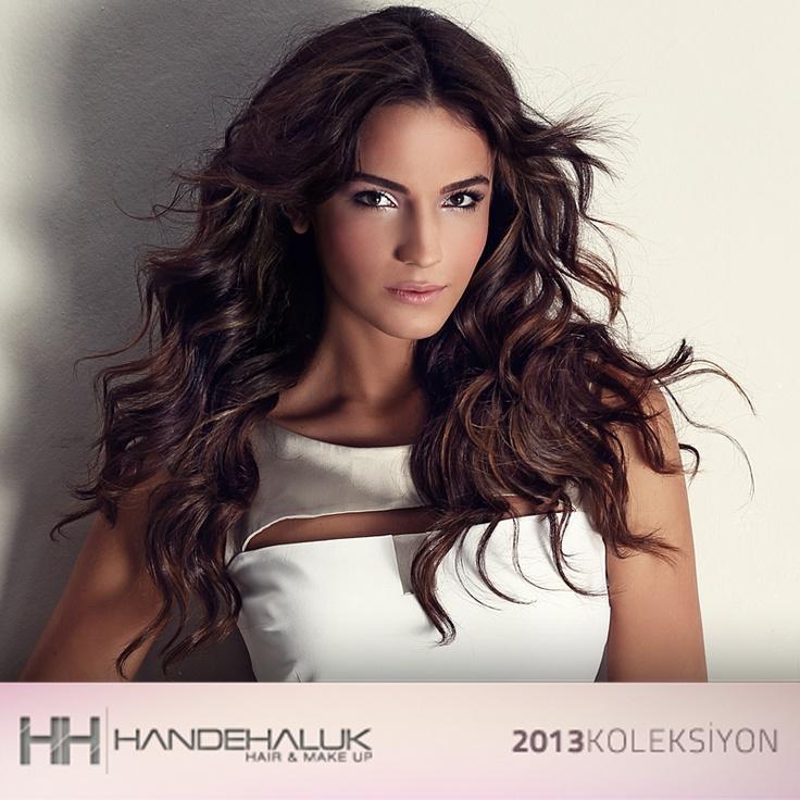 Dalgalı saçların cazibesi 2013 yılında da devam ediyor…  #sac #moda #stil #hair #hairstyle #acalyasamyelidanoglu  #handehaluk www.handehaluk.com