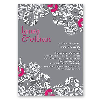 266 best Wedding Invitations images on Pinterest Bridal - best of invitation name designs