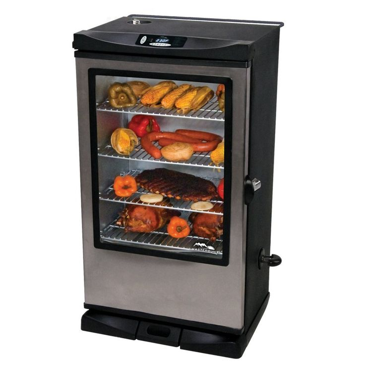 The 40-inch electric smoker by Masterbuilt is a beast. It's got some unique, new and useful features over the other products of masterbuilt. Theblue LED display for easy viewing in direct sunlight, an internal light with viewing door for monitoring what's going on inside, Bigger cooking space than other masterbuilt smoker of 975 sq. inches …