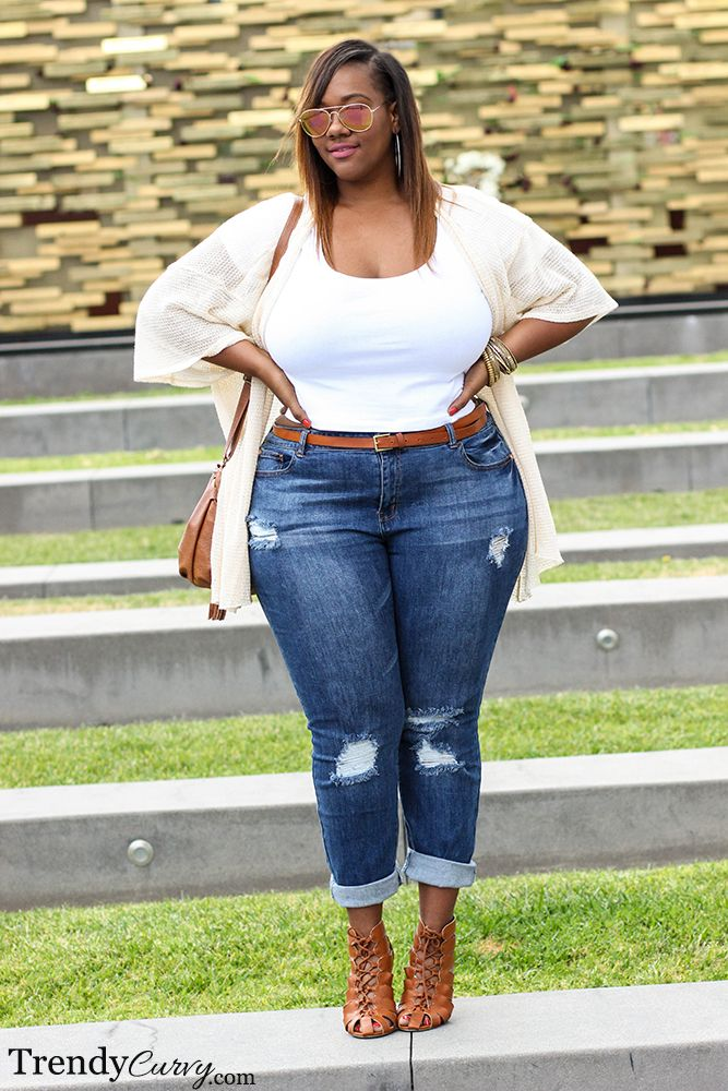 trendycurvy:   California Cool Outfit details on... | Chubby & Bonitas.