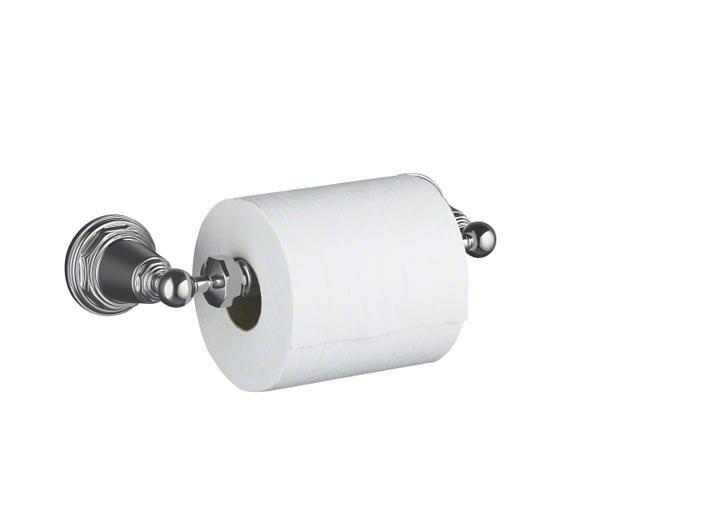 KOHLER Canada: K-13114: Pinstripe® toilet tissue holder: Accessories: Bathroom