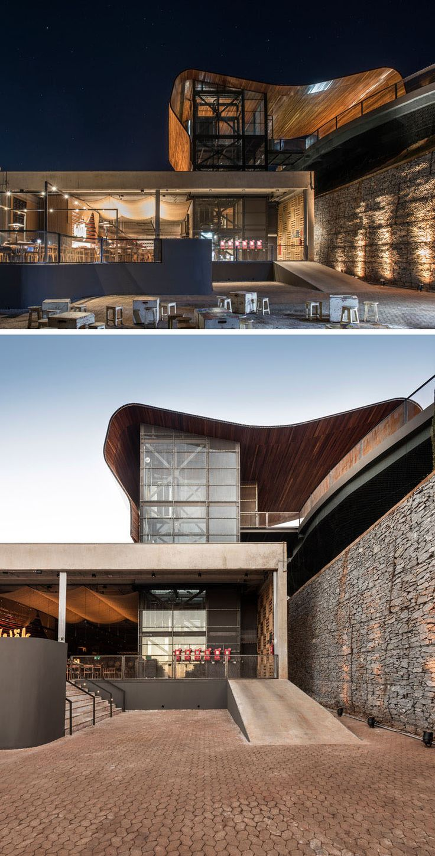 251 best Façade images on Pinterest   Contemporary architecture ...