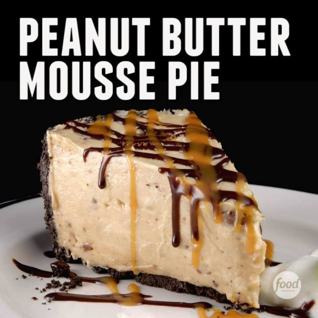 """""""It's like the world's greatest peanut butter cup wrapped into a pie."""" – Michael D. Symon"""