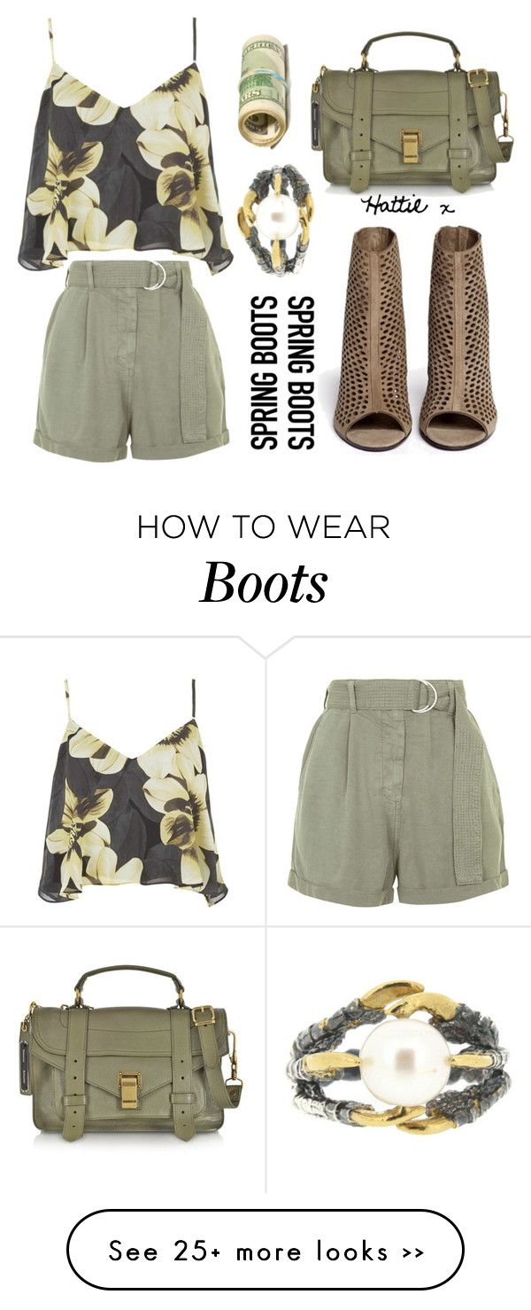 """""""My Money On Spring Boots..."""" by hattie4palmerstone on Polyvore"""