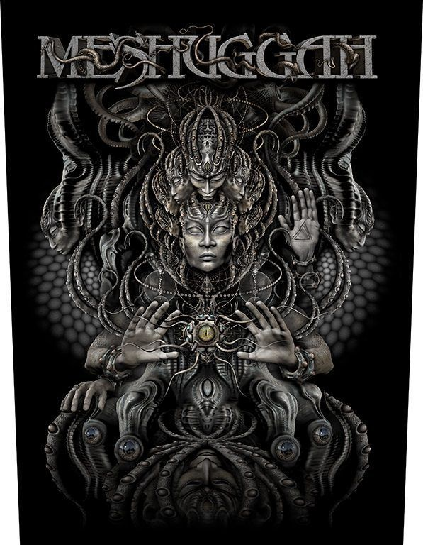 Meshuggah Musical Deviance Back Patch Metal Artwork Death