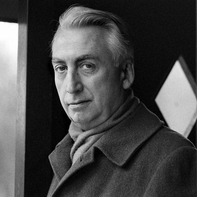 Roland Barthes wearing a scarf.