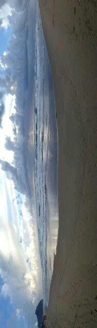 Sabaudia 1 marzo 2014 Anche sotto la pioggia......è magica