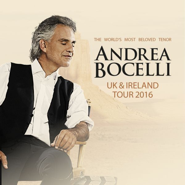 What Songs Is Andrea Bocelli Singing In His New Tour