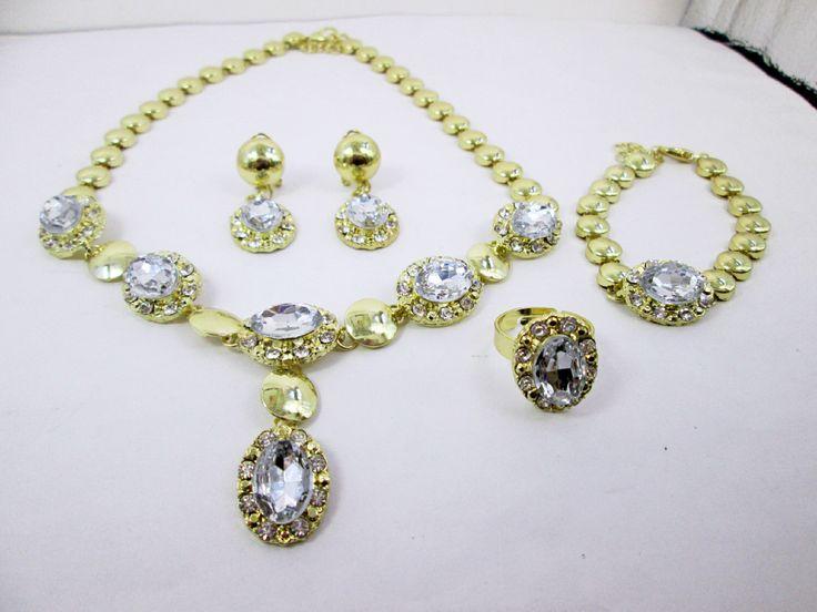 A personal favorite from my Etsy shop https://www.etsy.com/ca/listing/449525796/14k-gold-plated-5pcs-wedding-bridal