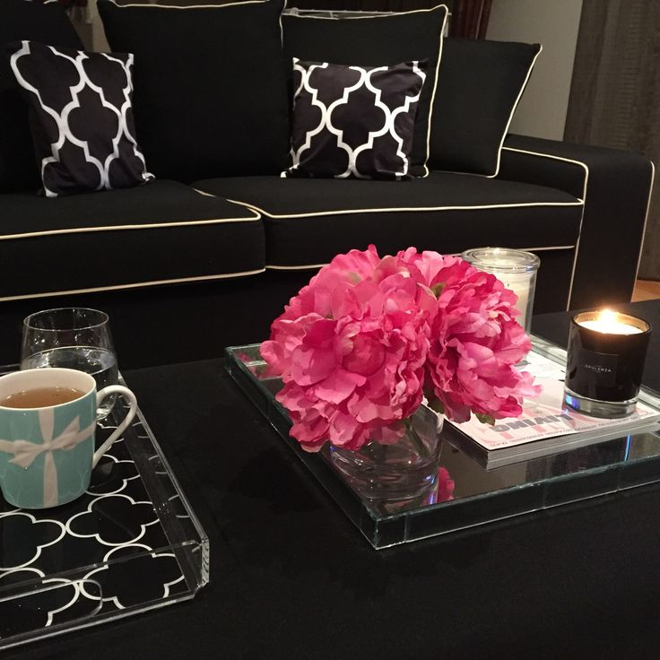 Our gorgeous luxury soy scented candles in black glass www.opulenza.com.au