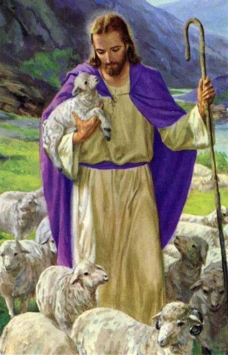 Image pieuse -Jésus