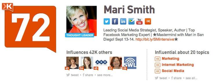 @Mari Smith: Leading Social Media Strategist, Speaker, Author | Top Facebook Marketing Expert |