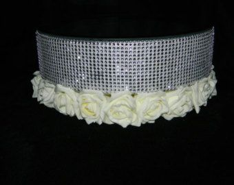 Stunning Vintage Inspired Pearl Crystal Design Cake Stand All Our Wedding Items Are Lovingly Hand