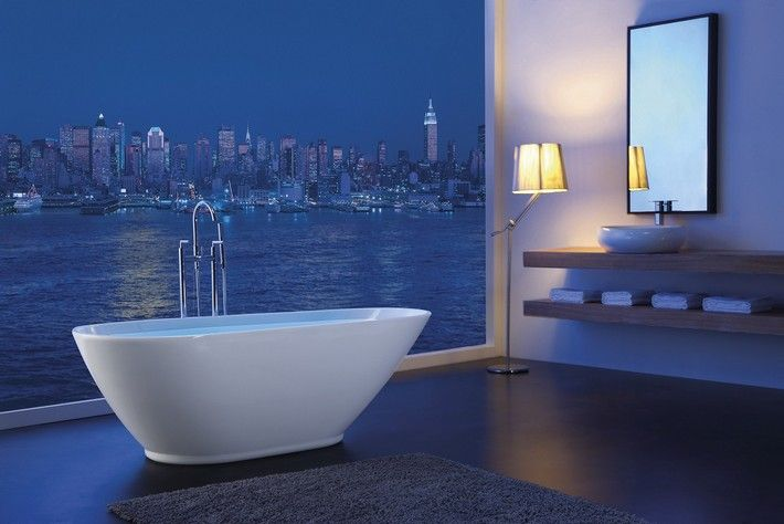 10 ROLL TOP BATH DESIGN IDEAS  see more at http://www.maisonvalentina.net/en/inspiration-and-ideas/interiorsdecor/10-roll-top-bath-design-ideas