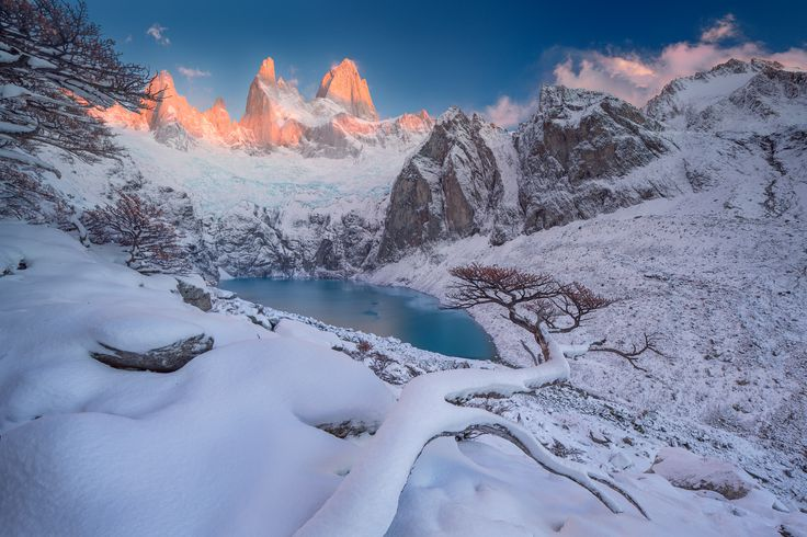 A Gift From The Gods  Photograph by Valeriy Shcherbina Patagonia