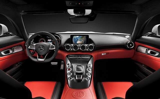 Mercedes AMG GT 2016 interior specifications