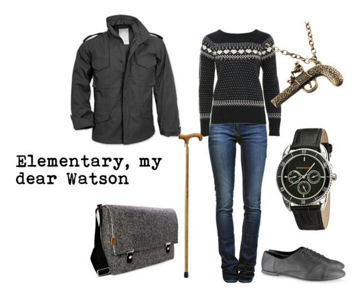John Watson outfit